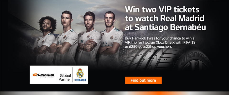 Your chance to win tickets to watch Real Madrid at Santiago Bernabéu