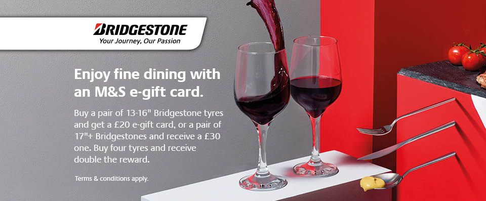 Win with Bridgestone