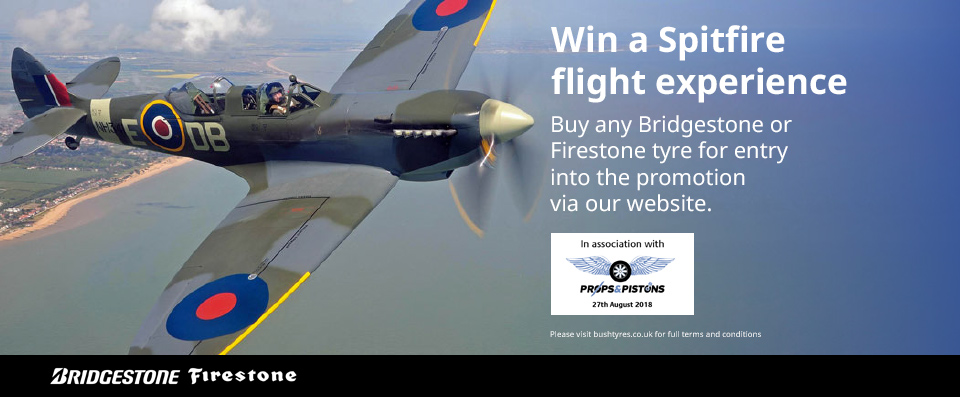 Win a Spitfire Flight Experience
