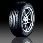 Tread pattern Continental ContiPremiumContact 2