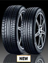 Tread pattern Continental tyres Lincoln ContiSportContact 5 P