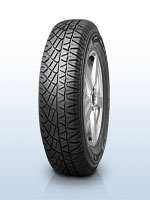 Tread pattern Michelin Latitude Cross